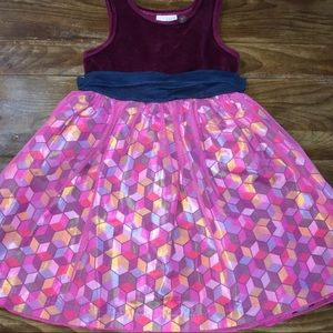 Matilda Jane paint by numbers Girls velvet Dress